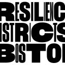 Resilience Districts Boston exhibition logo